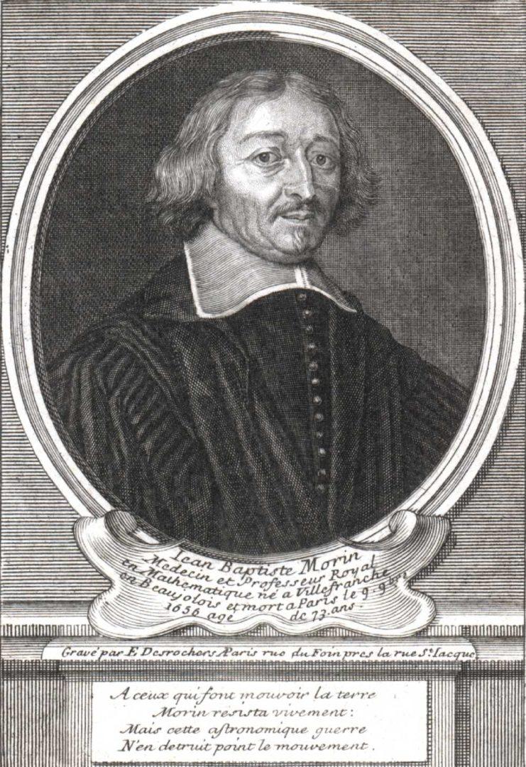 Jean – Batiste Morin 1583 – 1656