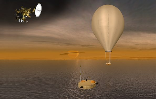 Αερόστατα, βάρκες αλλά και … υποβρύχια σχεδιάζονται από τη NASA για την εξερεύνηση του Τιτάνα.